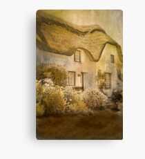 Cottage at Coverack Canvas Print