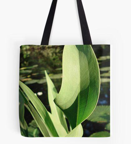 Duck Potato Foliage - light and shadow Tote Bag