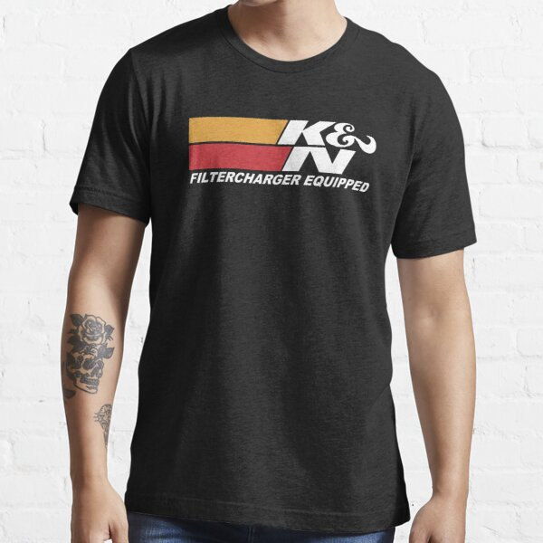white K&N engineering merchands Essential T-Shirt
