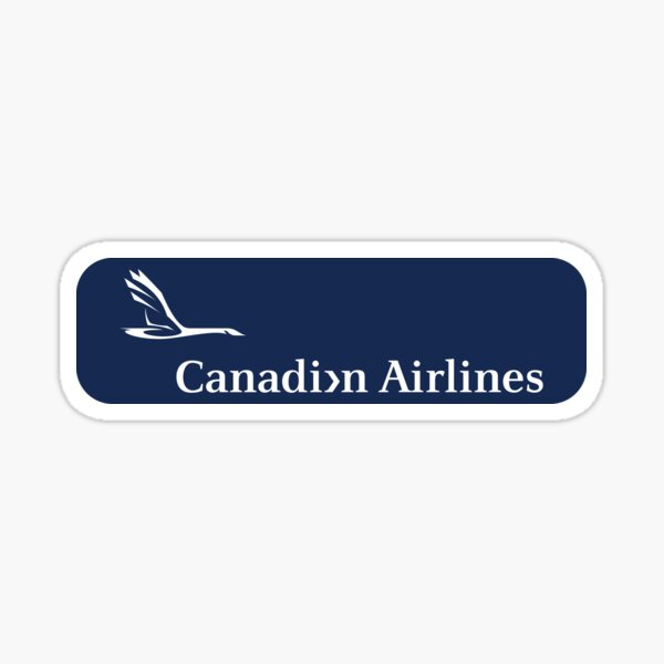 Canadian Airlines Logotype 03 Sticker
