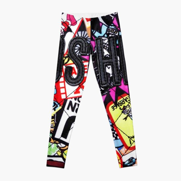 Moschino collages Leggings