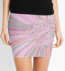 Pastel Planet Burst  Design Gift Mini Skirt