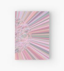 Pastel Planet Burst  Design Gift Hardcover Journal