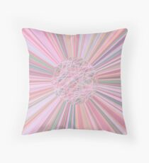 Pastel Planet Burst  Design Gift Throw Pillow