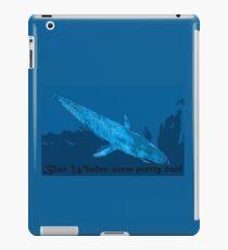 Blauwal iPad-Hülle & Klebefolie