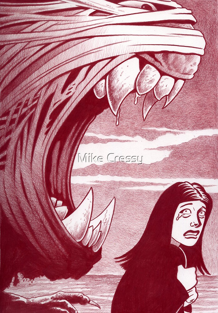 Nightmare sequence #7 by Mike Cressy