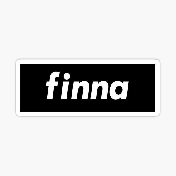 Finna Going To Words Millennials Use  Sticker