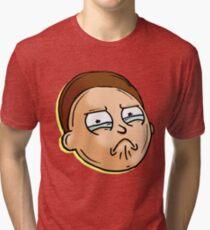 Camiseta de tejido mixto Teary Eyed Morty Smith de Rick y Morty