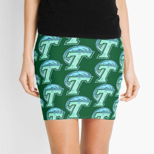 Watercolor Tulane Mini Skirt