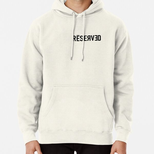 Reserved for Bad Guy Billie Pullover Hoodie