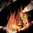 HellHound Flame by Troy Stapek