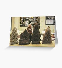 Termite Fortress designs Greeting Card