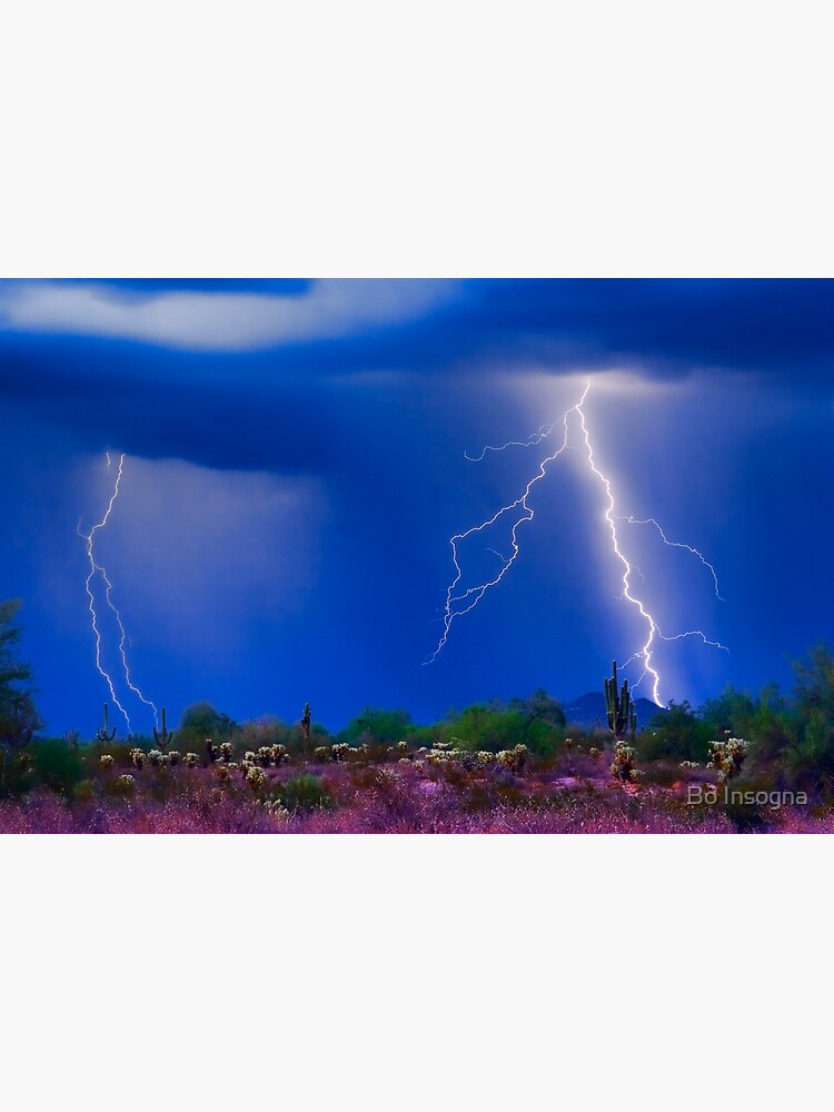 Colorful Sonoran Desert Storm by mrbo