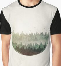 Tannenbäume Grafik T-Shirt