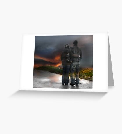 Delighted To Love You Greeting Card