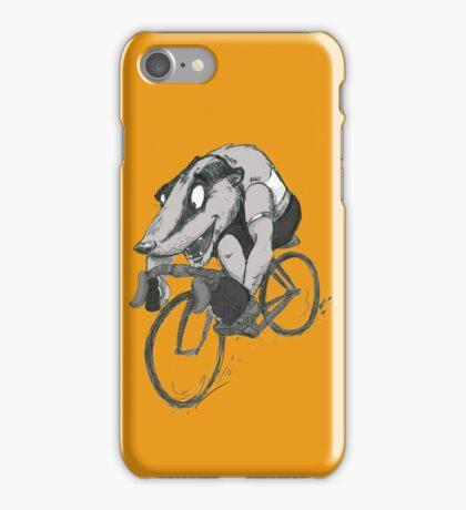 Bikin' Badger iPhone Case/Skin