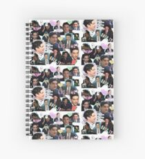 Robin Lord Taylor Spiral Notebook