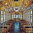 Trolley Car 432A Interior HDR by MKWhite