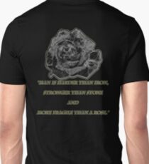 More Fragile Than A Rose Unisex T-Shirt