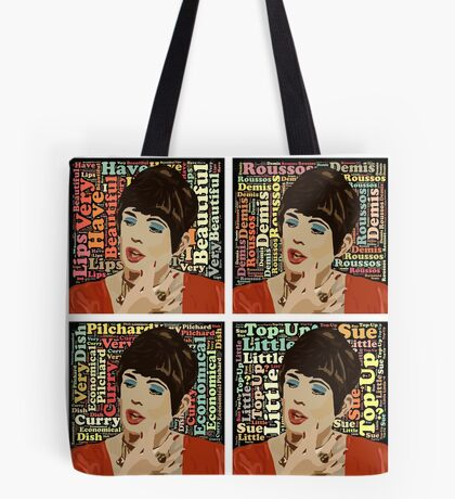 Beautiful Lips (Quotes) Tote Bag