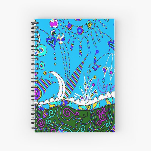 Land of Happy Spiral Notebook