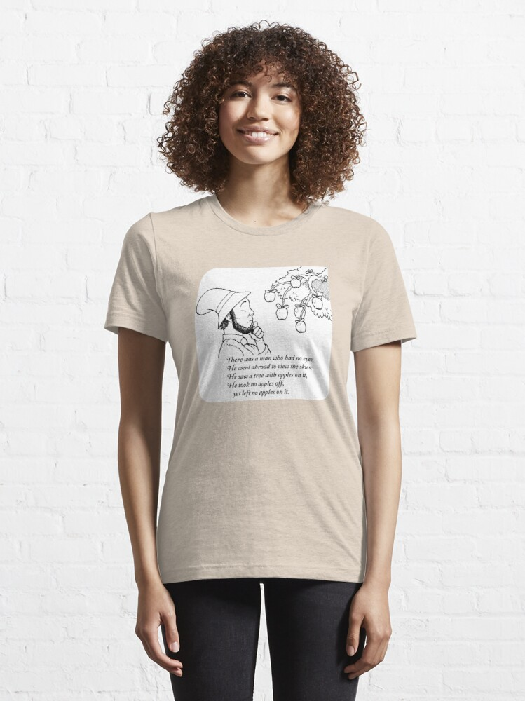 Alternate view of There was a Man with No Eyes... Essential T-Shirt