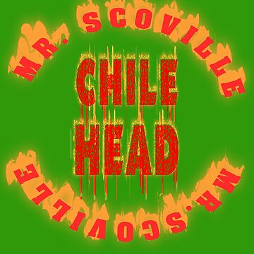 Chillie Wettesser winner. Chile Head. Mr. Scoville. by Live-Counter