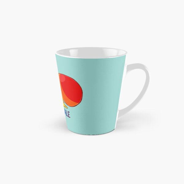 Homosexuwhale - with text Tall Mug