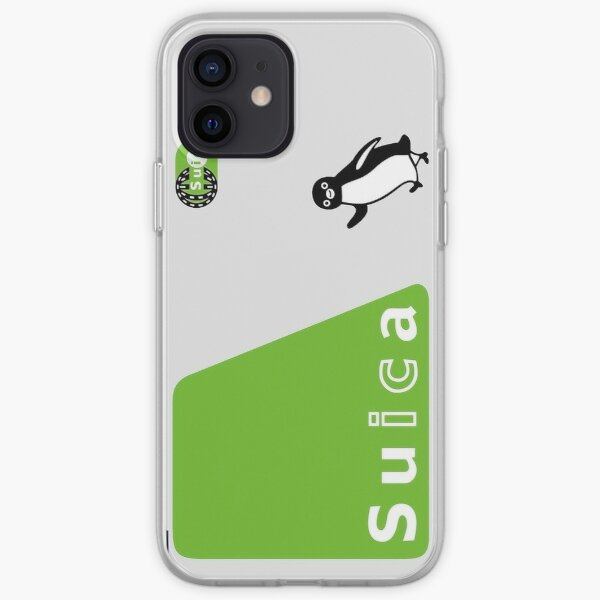 Japanese Suica Smart Card iPhone Soft Case