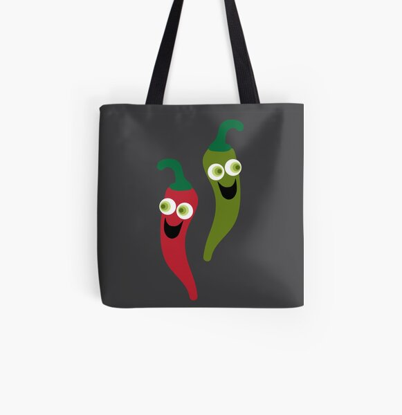 HOT DIGGITY  All Over Print Tote Bag