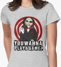Billy - You wanna play a game? Women's Fitted T-Shirt