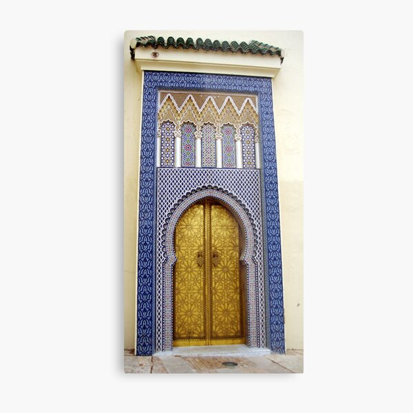 Heavens Gate, Fez, Morocco Metal Print