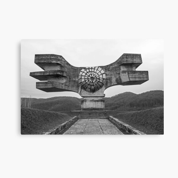 Podgaric Monument  Canvas Print