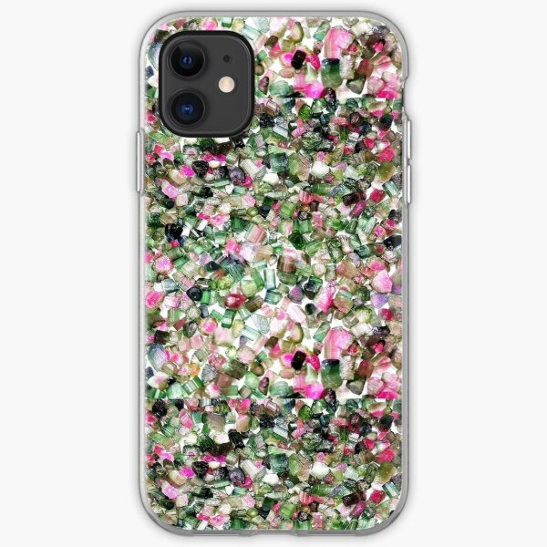 Multi-Color Crystals iPhone Soft Case
