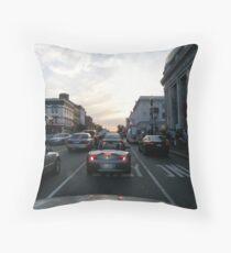 Traveling Throw Pillow