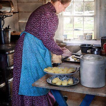 Baker - Preparing Dinner by mikesavad