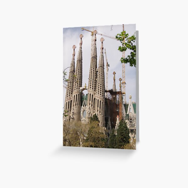Sagrada Familia - Barcelona Greeting Card