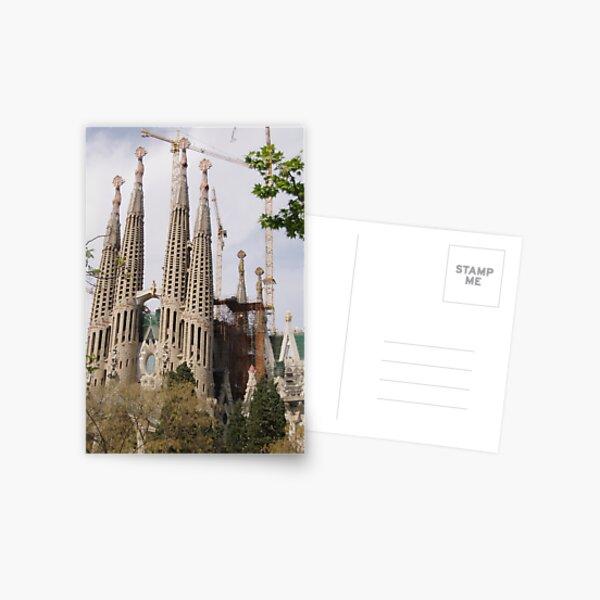 Sagrada Familia - Barcelona Postcard