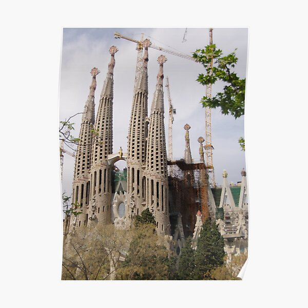 Sagrada Familia - Barcelona Poster