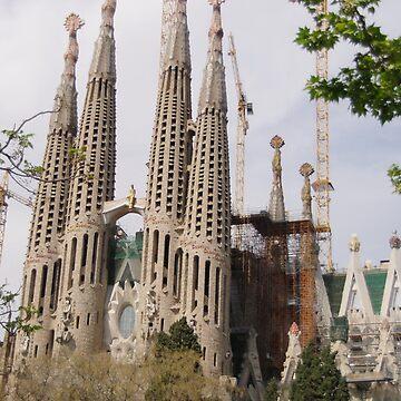 Sagrada Familia - Barcelona by AlisonHowson