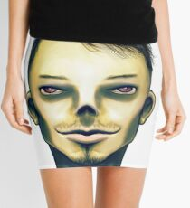 Zombie Boy Smiling Mini Skirt