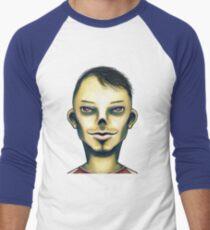 Zombie Boy Smiling Men's Baseball ¾ T-Shirt