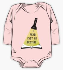 I Read Past My Bedtime One Piece - Long Sleeve