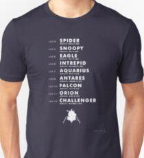 Liste der Apollo Lunar Module Slim Fit T-Shirt