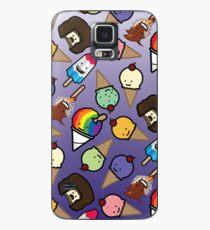 Purple Ombre Frosty Treats Case/Skin for Samsung Galaxy