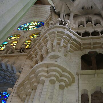 Sagrada Familia, Barcelona - Internal by AlisonHowson
