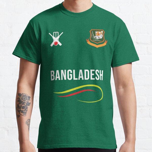Team BANGLADESH Cricket World Cup 2019 T-Shirt Barcode Mens Womens Kids Jersey