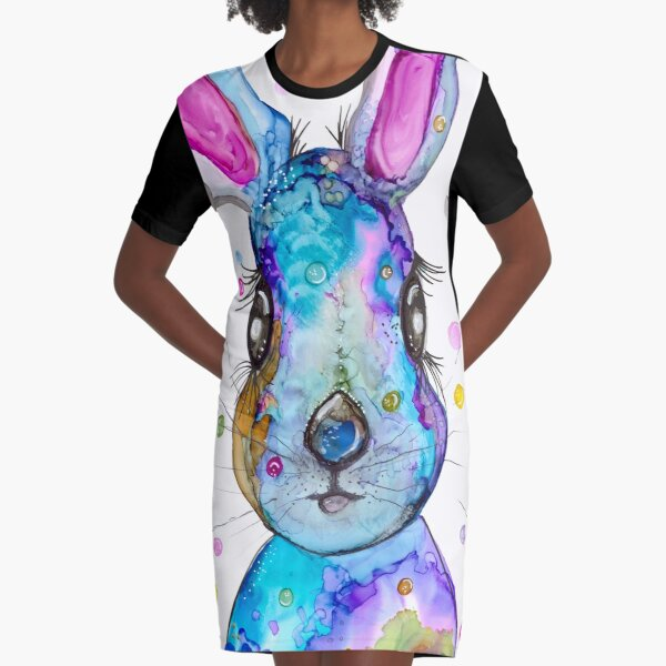 Abby  Graphic T-Shirt Dress