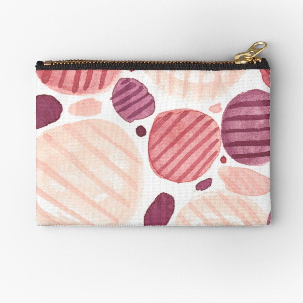 Pebbly Zipper Pouch