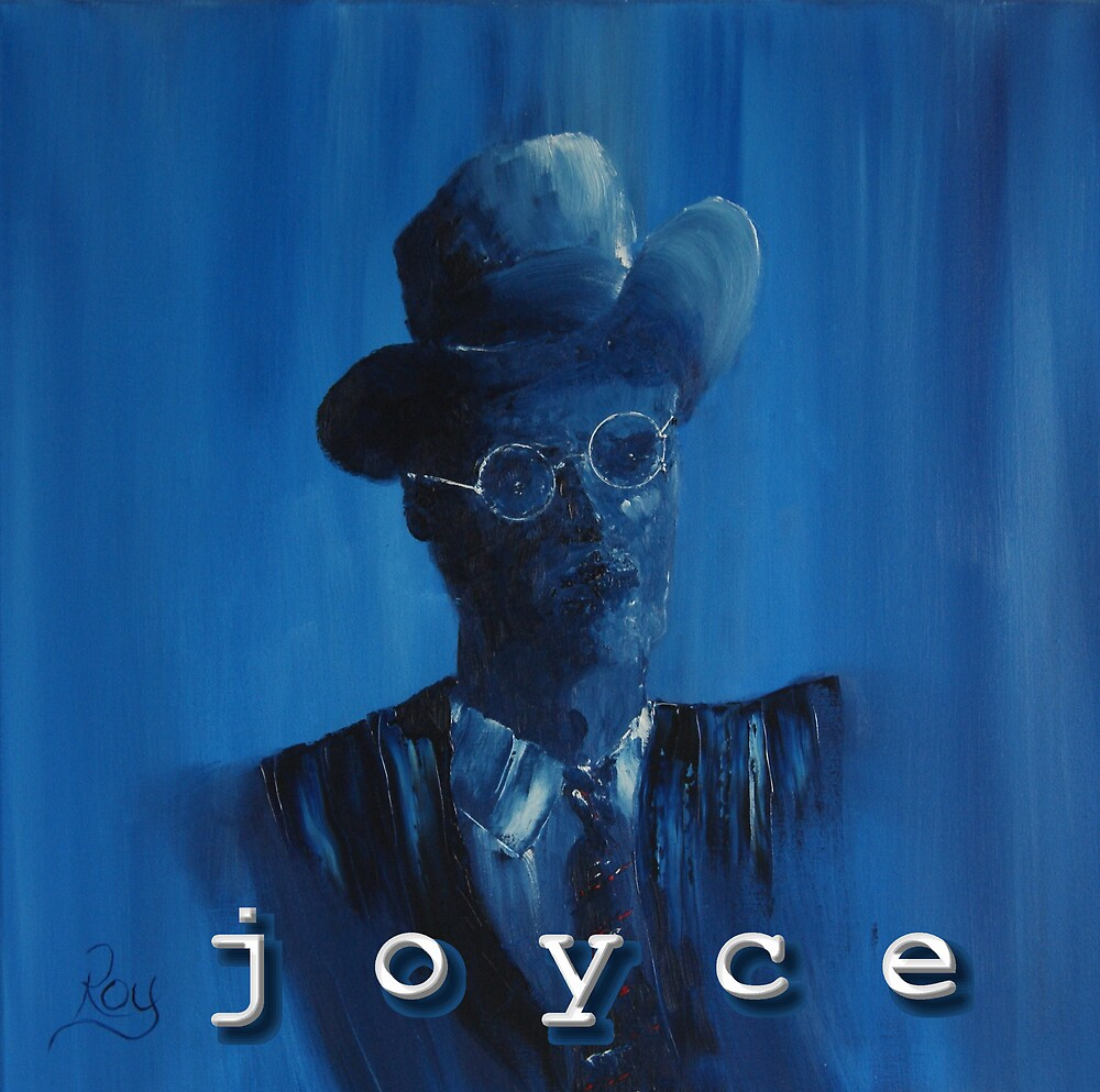 James Joyce Portrait. by redobyrne